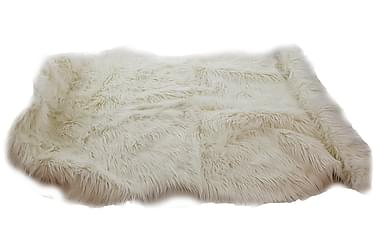 Matta Fluff Acryl Vit 90x150 cm