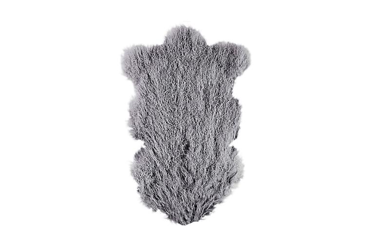 Naturligt Fårskinn Tibet L 60x95 cm Mörkgrå/Lila - Heminredning - Mattor - Fällar & skinnmattor