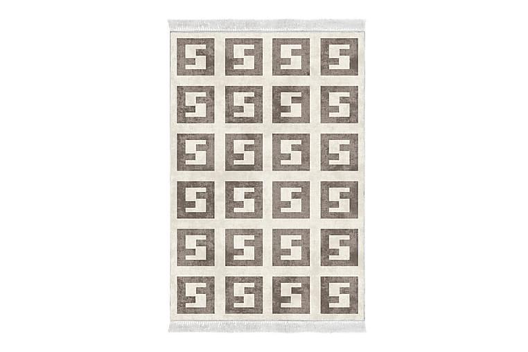 Alanur Home Matta 100x300 cm - Beige/Brun - Heminredning - Mattor - Friezematta
