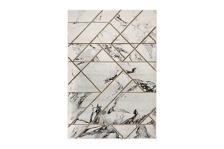 Skravelsbo Marble Matta 200x290 cm - Guld - Heminredning - Mattor - Friezematta