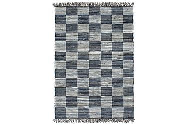 Handvävd matta Chindi denim 160x230 blå