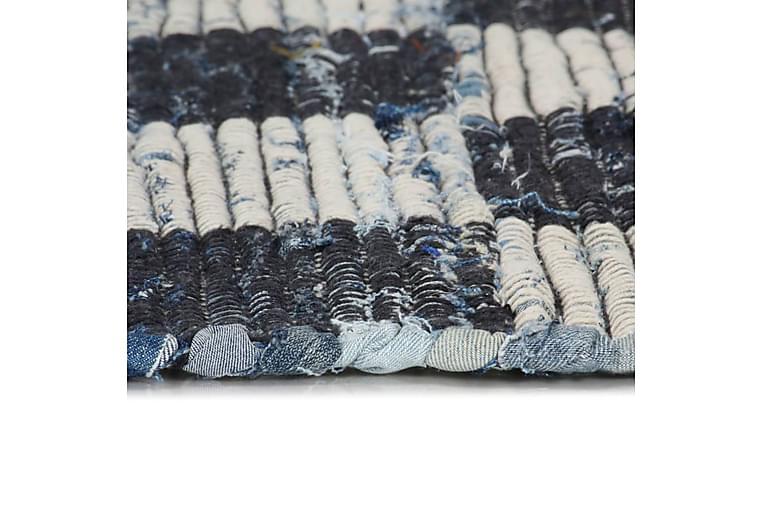 Handvävd matta Chindi denim 200x290 cm blå - Blå - Heminredning - Mattor - Handvävda mattor