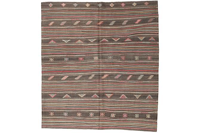 Kelim Turkisk matta 218x242 Orientalisk Matta - Heminredning - Mattor - Kelimmattor