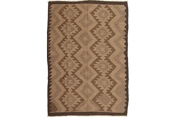 Orientalisk Kelimmatta 157x231 - Brun - Heminredning - Mattor - Kelimmattor