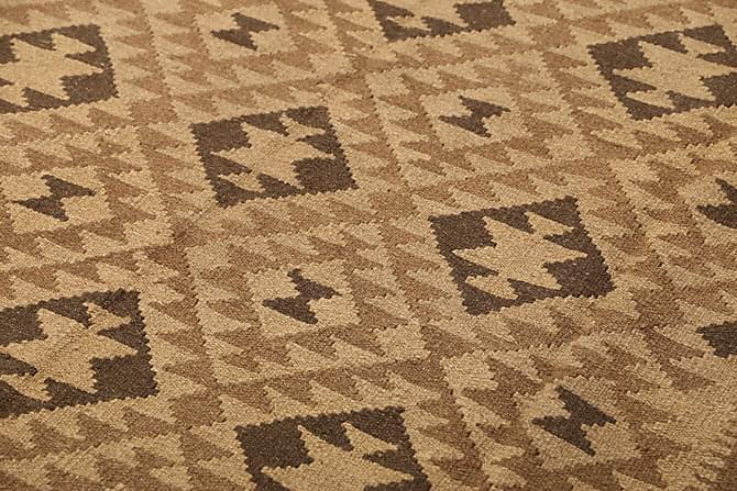 Orientalisk Kelimmatta 159x247 - Beige|Brun - Heminredning - Mattor - Kelimmattor