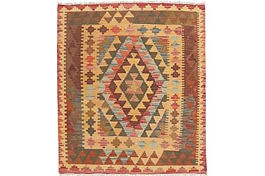 Orientalisk Kelimmatta Afghan 93x111
