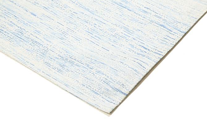 Orientalisk Kelimmatta Jakart 123x184 - Blå Grå Vit - Heminredning - Mattor - Kelimmattor