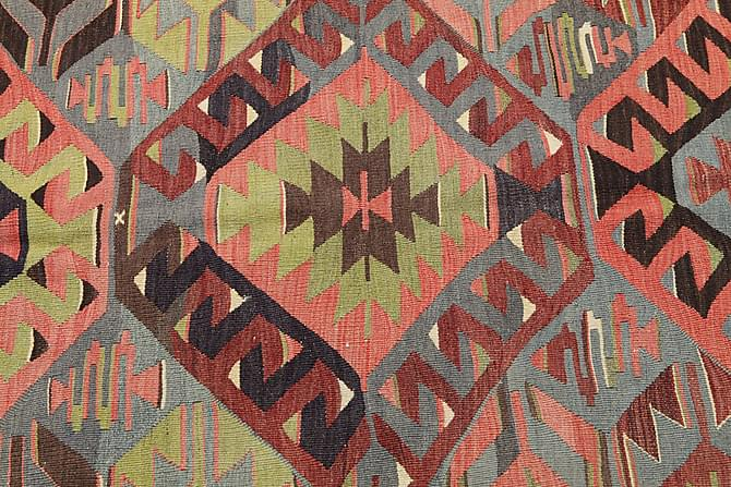 Orientalisk Kelimmatta Semiantik 156x315 - Flerfärgad - Heminredning - Mattor - Kelimmattor