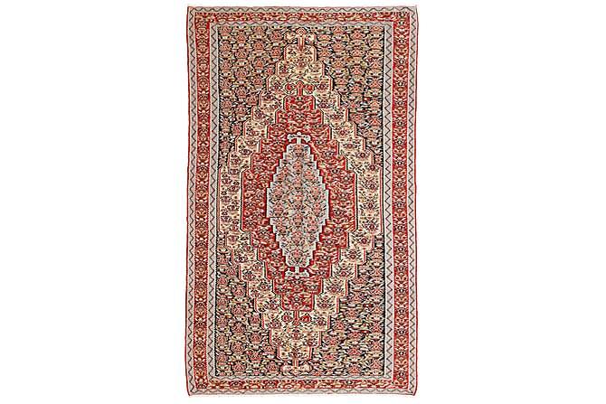 Orientalisk Kelimmatta Senneh 150x249 - Flerfärgad - Heminredning - Mattor - Kelimmattor
