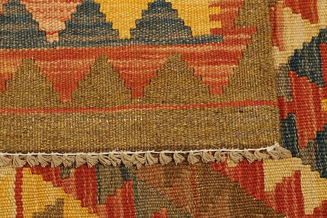 Stor Kelimmatta Afghan 98x184 - Flerfärgad - Heminredning - Mattor - Kelimmattor
