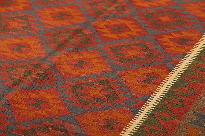 Stor Kelimmatta Maimane 200x299 - Brun|Orange - Heminredning - Mattor - Kelimmattor