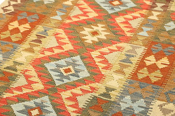 Orientalisk Kelimmatta Afghan 107x203 - Flerfärgad - Heminredning - Mattor - Marockanska mattor