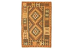 Orientalisk Kelimmatta Afghan 93x139