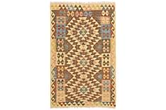 Orientalisk Kelimmatta Afghan 93x149