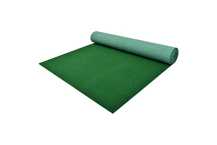 Konstgräs med halkskydd PP 20x1,33 m grön