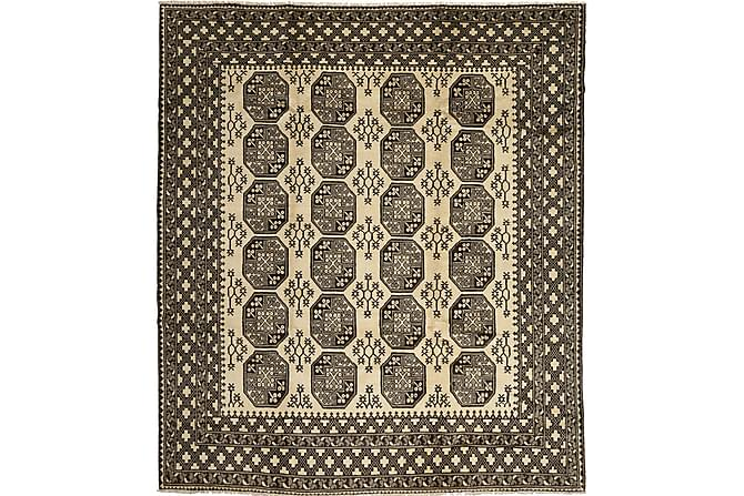 Afghan Matta 258x296 Stor - Svart/Grå - Heminredning - Mattor - Orientaliska mattor