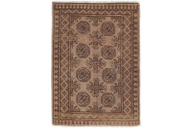 Afghan Orientalisk Matta 77x107 - Brun - Heminredning - Mattor - Orientaliska mattor