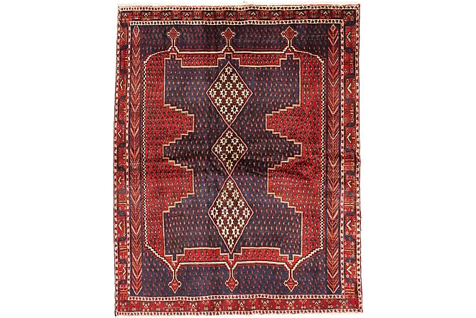 Afshar Matta 172x218 Stor - Röd - Heminredning - Mattor - Orientaliska mattor