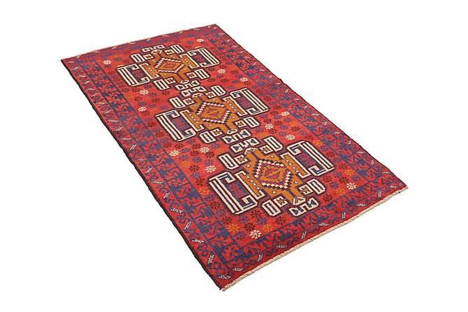Beluch Matta 98x180 Stor - Röd - Heminredning - Mattor - Orientaliska mattor