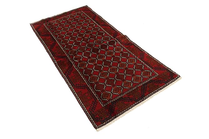 Beluch Matta 98x197 Stor - Röd - Heminredning - Mattor - Orientaliska mattor