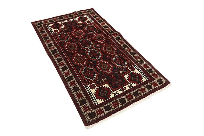 Beluch Orientalisk Matta 101x179 Persisk - Röd - Heminredning - Mattor - Orientaliska mattor