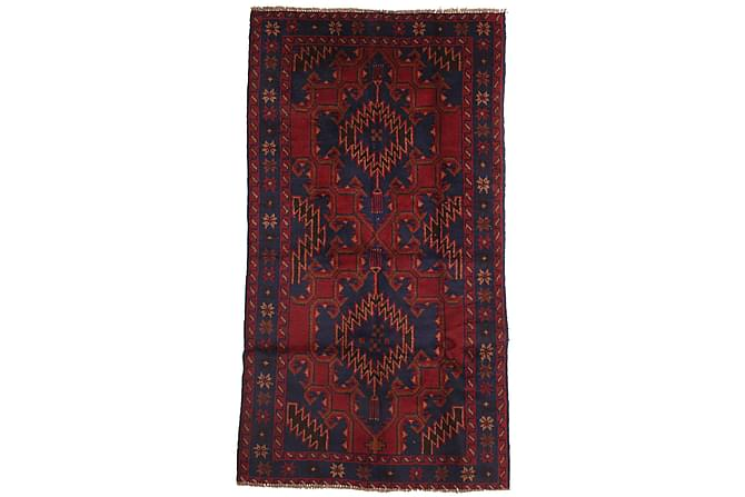 Beluch Orientalisk Matta 101x193 - Röd - Heminredning - Mattor - Orientaliska mattor