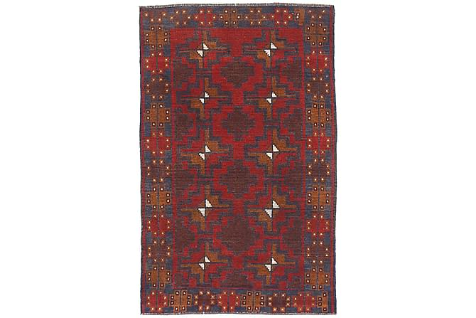 Beluch Orientalisk Matta 81x132 - Röd - Heminredning - Mattor - Orientaliska mattor