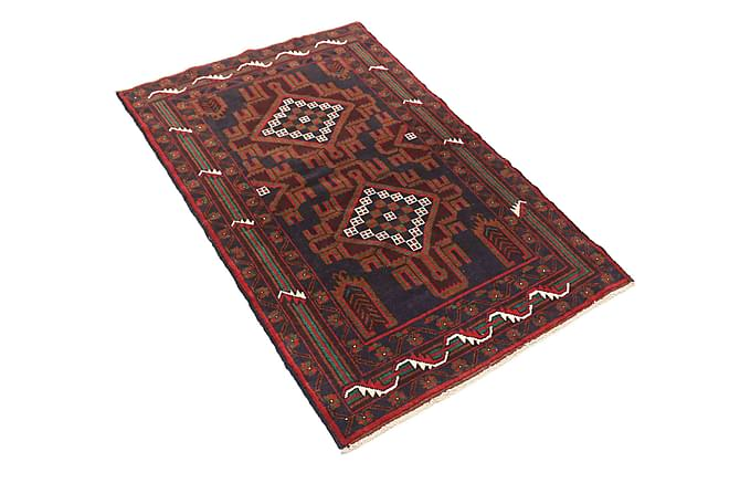 Beluch Orientalisk Matta 82x135 - Brun/Röd - Heminredning - Mattor - Orientaliska mattor