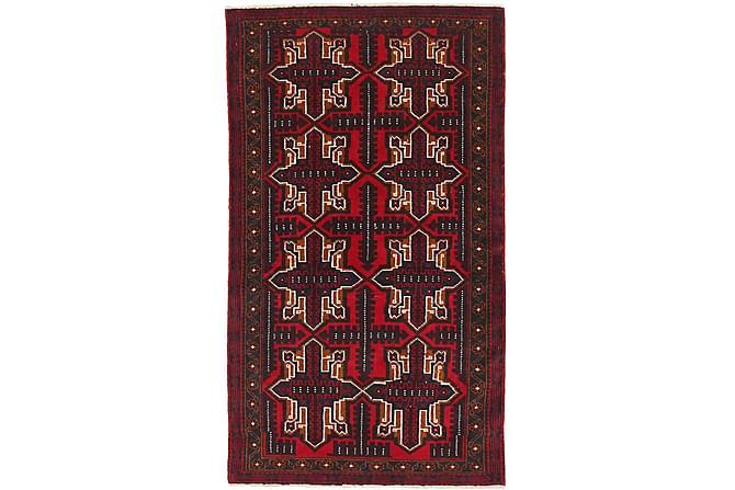 Beluch Orientalisk Matta 82x147 - Röd - Heminredning - Mattor - Orientaliska mattor