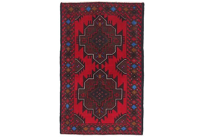 Beluch Orientalisk Matta 83x137 - Röd - Heminredning - Mattor - Orientaliska mattor