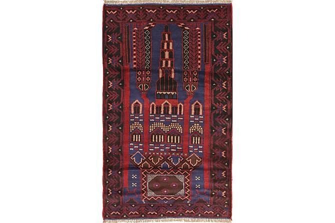 Beluch Orientalisk Matta 83x140 - Röd - Heminredning - Mattor - Orientaliska mattor