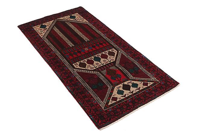 Beluch Orientalisk Matta 83x153 - Röd - Heminredning - Mattor - Orientaliska mattor