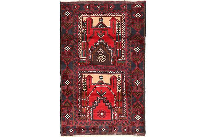 Beluch Orientalisk Matta 90x150 - Röd - Heminredning - Mattor - Orientaliska mattor