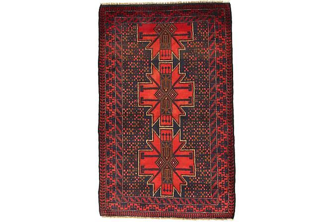 Beluch Orientalisk Matta 92x145 - Röd - Heminredning - Mattor - Orientaliska mattor