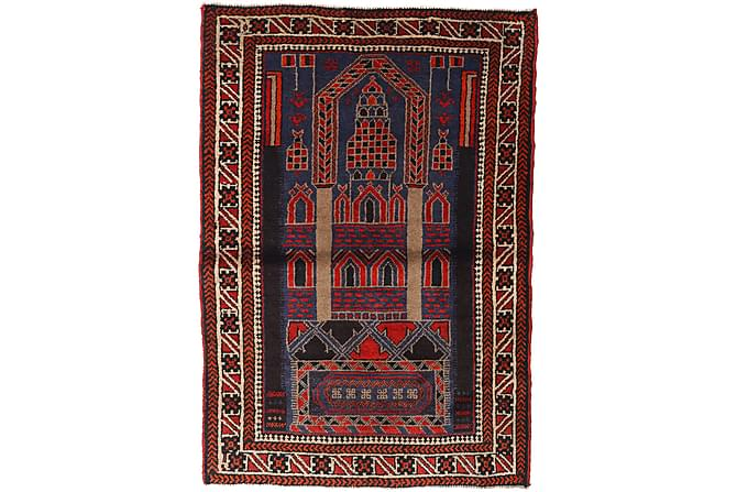 Beluch Orientalisk Matta 95x140 - Flerfärgad - Heminredning - Mattor - Orientaliska mattor