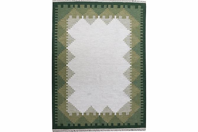 Brown Kelimmatta 140x200 - Grön - Heminredning - Mattor - Orientaliska mattor