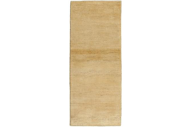 Gabbeh Matta 79x196 Stor - Beige - Heminredning - Mattor - Orientaliska mattor