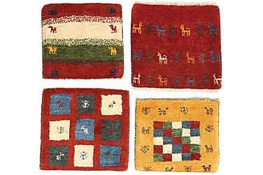 Gabbeh Orientalisk Matta 40x40 4-pack