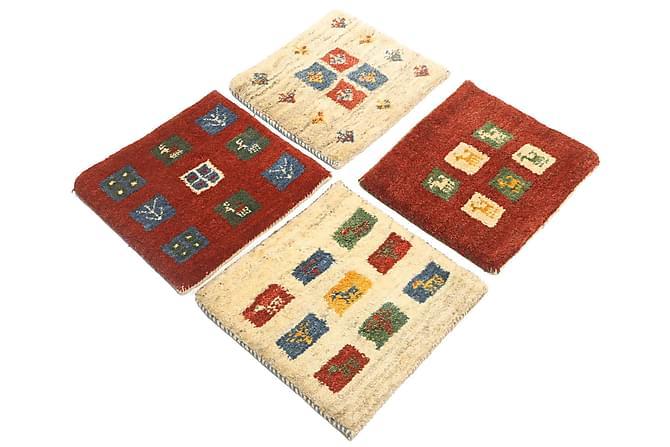 Gabbeh Orientalisk Matta 40x40 4-pack - Flerfärgad - Heminredning - Mattor - Orientaliska mattor
