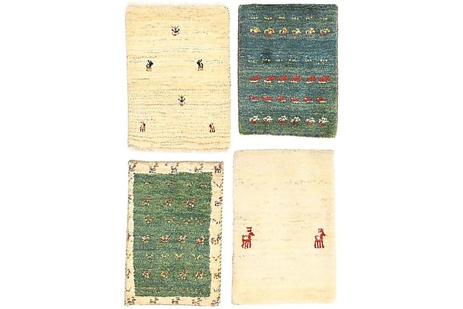 Gabbeh Orientalisk Matta 40x60 - Beige - Heminredning - Mattor - Orientaliska mattor