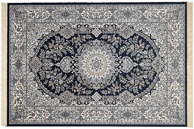 Garda Viskosmatta 160x230 - Blå - Heminredning - Mattor - Orientaliska mattor