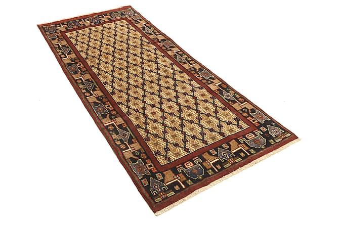 Hamadan Matta 95x210 Stor - Brun - Heminredning - Mattor - Orientaliska mattor