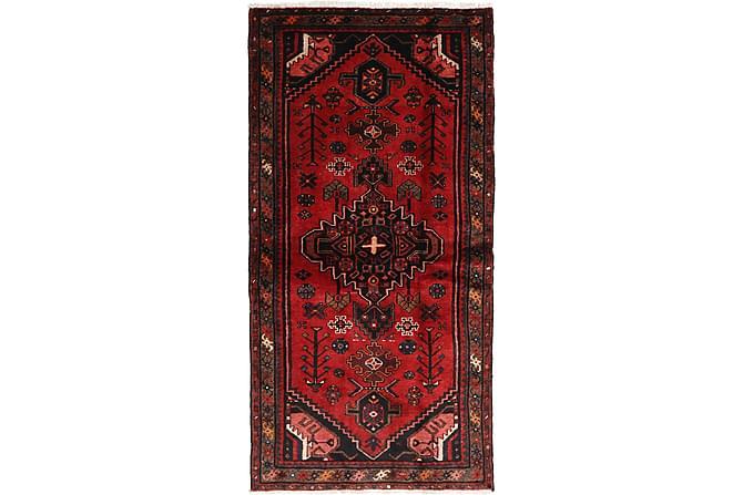 Hamadan Orientalisk Matta 107x212 Persisk - Röd - Heminredning - Mattor - Orientaliska mattor