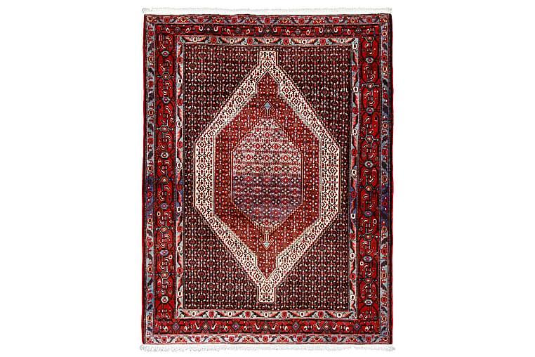 Handknuten Persisk Matta 126x166 cm - Mörkblå/Röd - Heminredning - Mattor - Orientaliska mattor