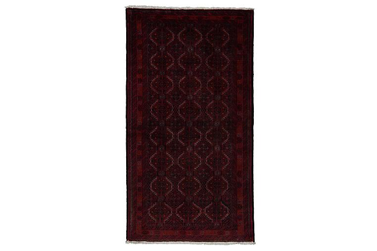 Handknuten Persisk Matta 129x295 cm Kelim - Röd/Svart - Heminredning - Mattor - Orientaliska mattor