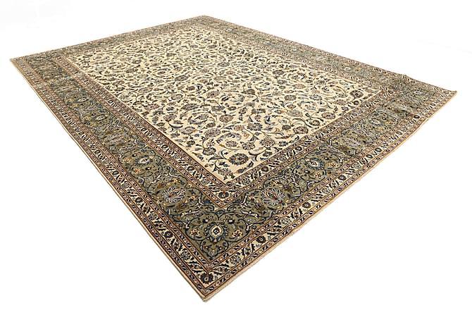 Keshan Matta 294x390 Persisk Patina - Gul/Brun/Grön - Heminredning - Mattor - Orientaliska mattor