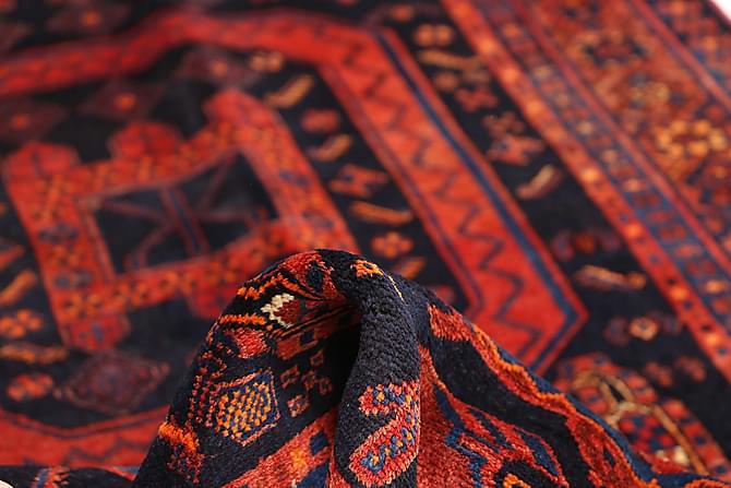 Kurdi Orientalisk Matta 136x308 - Röd - Heminredning - Mattor - Orientaliska mattor