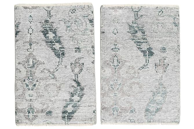 Orientalisk Silkesmatta Himalaya 60x90 - Blå - Heminredning - Mattor - Orientaliska mattor