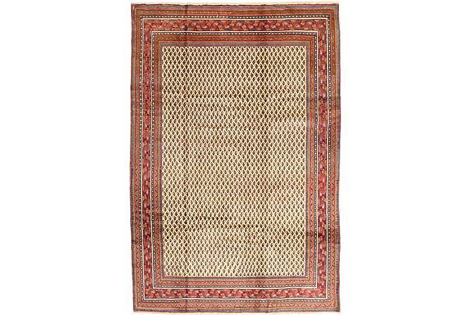 Sarough Matta 210x310 Stor - Brun/Röd - Heminredning - Mattor - Orientaliska mattor