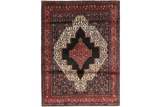 Senneh Orientalisk Matta 119x158 Persisk - Röd - Heminredning - Mattor - Orientaliska mattor